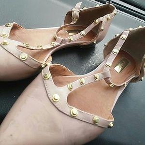 Pink halogen shoes